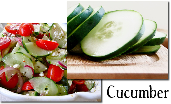 ... cucumber salad grilled pita with greek salad sweet and spicy cucumber